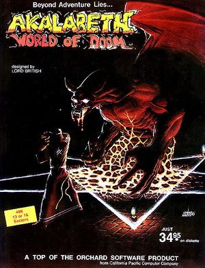 Akalabeth: World of Doom cover