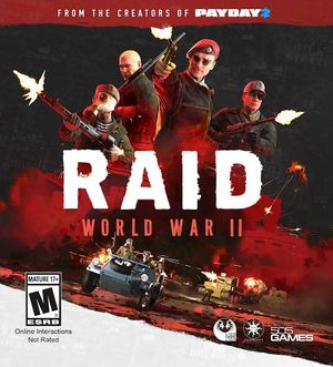 RAID: World War II - PCGamingWiki PCGW - bugs, fixes