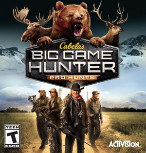 Cabela's Big Game Hunter Pro Hunts cover