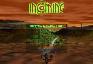 Graphics settings
