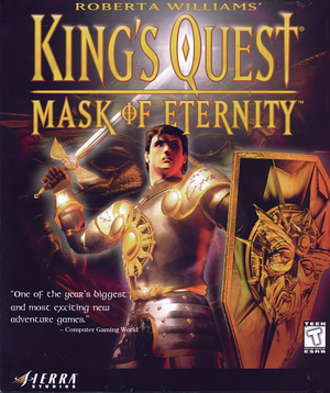 King's Quest: Mask of Eternity cover