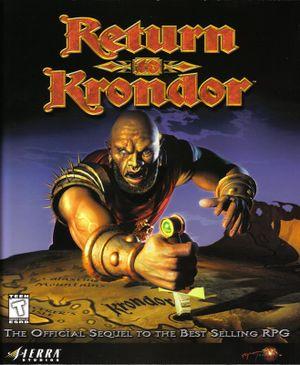 Return to Krondor cover