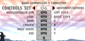 Controller rebinding.