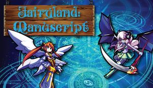 Fairyland: Manuscript cover