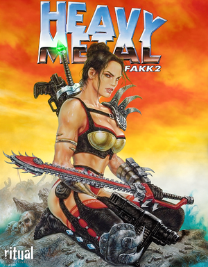 Heavy Metal: F.A.K.K.² cover