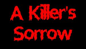 A Killer's Sorrow cover