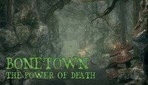 Bonetown - The Power of Death cover