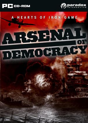 Arsenal of Democracy: A Hearts of Iron Game cover