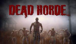 Dead Horde cover