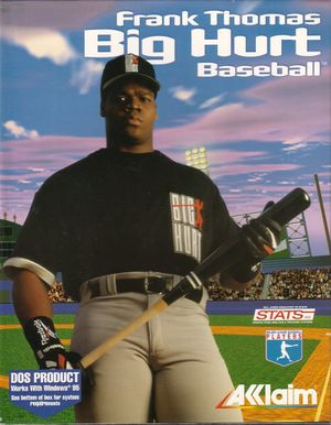 Frank Thomas Big Hurt Baseball cover