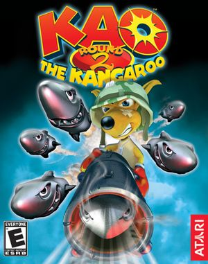 Kao the Kangaroo: Round 2 cover
