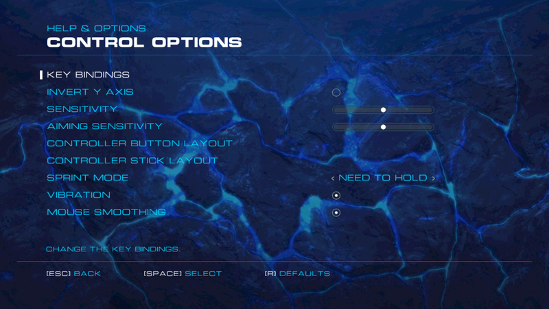 File:Alien Rage - Unlimited input settings (single player).png