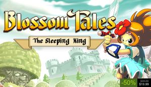 Blossom Tales: The Sleeping King cover