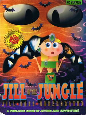 Jill of the Jungle: Jill Goes Underground cover