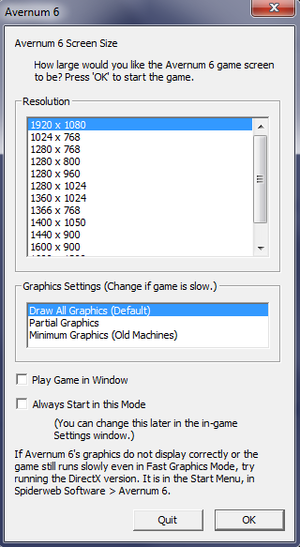 Game launcher.