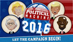 The Political Machine 2016 cover