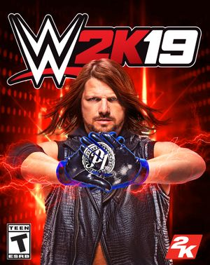 WWE 2K19 cover