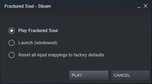 Steam launch options.