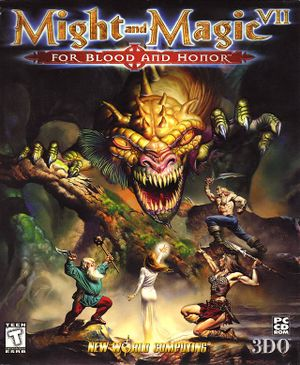 Might and Magic VII: For Blood and Honor cover