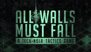 All Walls Must Fall cover