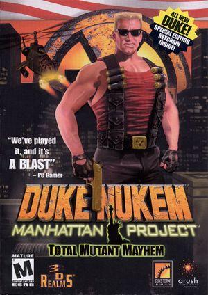 Duke Nukem: Manhattan Project cover
