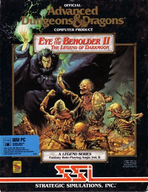 Eye of the Beholder II: The Legend of Darkmoon cover