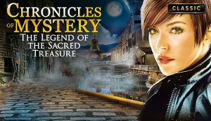 Chronicles of Mystery - The Legend of the Sacred Treasure cover