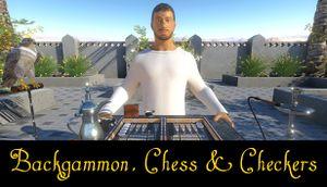Backgammon, Chess & Checkers cover
