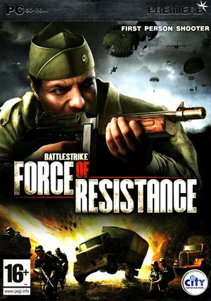 Battlestrike: Force of Resistance cover