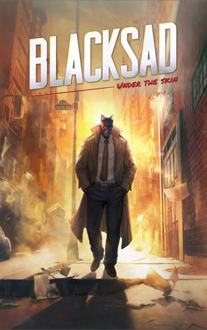 Blacksad: Under the Skin cover