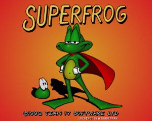 Superfrog cover