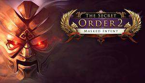 The Secret Order 2: Masked Intent cover