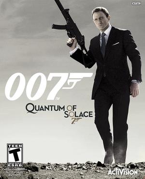 007: Quantum of Solace cover