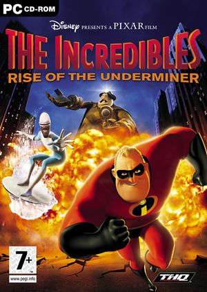 The Incredibles: Rise of the Underminer cover