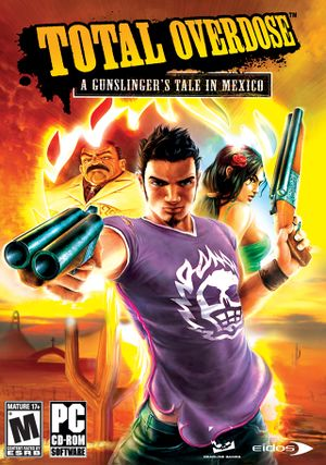 Total Overdose: A Gunslinger's Tale in Mexico cover