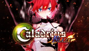 Caladrius Blaze cover