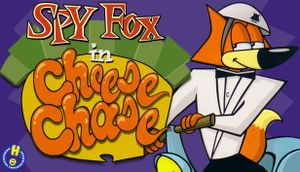 Spy Fox in: Cheese Chase cover