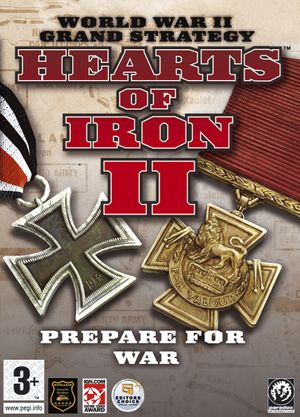 Hearts of Iron II cover