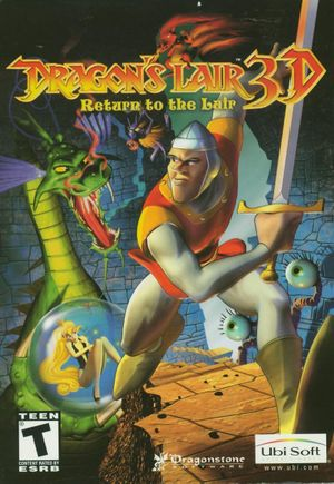 Dragon's Lair 3D: Return to the Lair cover