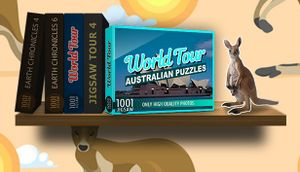 1001 Jigsaw. World Tour: Australian Puzzles cover