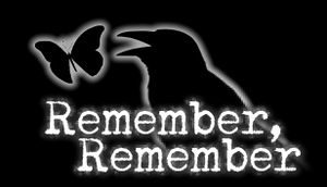 Remember, Remember cover