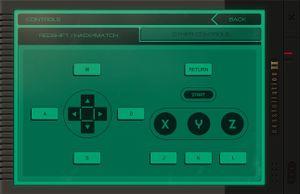 Redshift / HACK*MATCH controls.