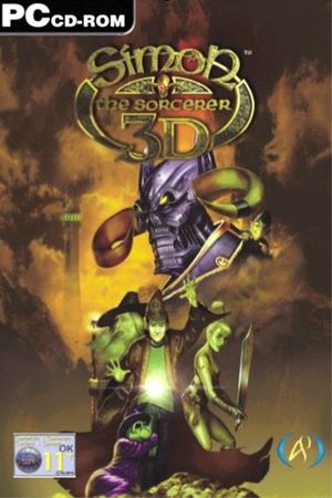 Simon the Sorcerer 3D cover