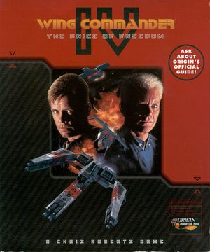 Wing Commander IV: The Price of Freedom cover