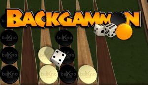 Backgammon cover