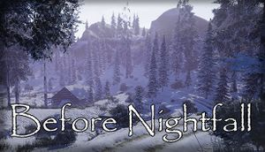 Before Nightfall cover