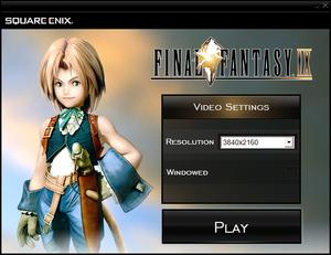 Final Fantasy IX - PCGamingWiki PCGW - bugs, fixes, crashes