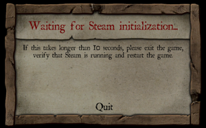 'Waiting for Steam initialization...'