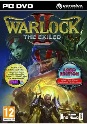 Warlock 2: The Exiled cover