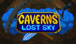 Caverns: Lost Sky cover